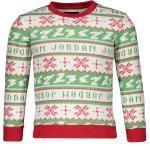 Jordan Jumpman Holiday Crew Sweatshirt Kids FR78 - 85A153 4 ( 98-104 )