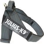 Julius K9 IDC Gurtbandgeschirr Color & Gray, Gr. 2 - Brustumfang: 67-94 cm, schwarz