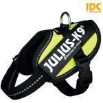 Neongelbe Julius-K9 Hundegeschirre