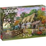 Jumbo Puzzle Premium Das Bauernhaus 3000 Teile