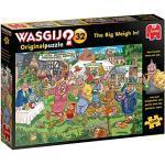Jumbo Spiele GmbH JUM19170 The Big Weigh Piece Jigsaw Puzzle Wasgij Original 32 (1000 Teile)