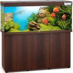 JUWEL Rio 450 LED Aquarium mit Unterschrank, 450 Liter, 151x51x(66+80)cm, dunkles Holz