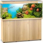 JUWEL Rio 450 LED Aquarium mit Unterschrank, 450 Liter, 151x51x(66+80)cm, helles Holz
