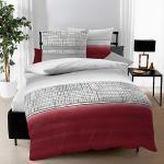 Rote Moderne KAEPPEL Bettwäsche