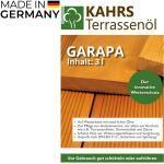 KAHRS Terrassenöl, Garapa, 3 L, PET-Kanister