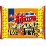 Kameda Seika Kaki no taneViele Erdnüsse in 16 Taschen 560g