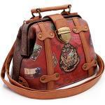 KARACTERMANIA Unisex Doctor Shoulder Bag Umhängetasche Gepäck-Kuriertasche, Braun (Brown), 20 cm