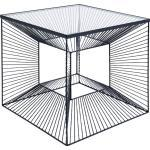 KARE DESIGN Beistelltisch 84753 Dimension Stahl Schwarz