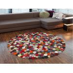 Kare Design Circle Multi 150 cm rund - Teppich
