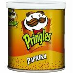Karton Chips Pringles Sweet Paprika 40g (2,28 € pro 100 g)