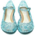 Katara ES10 Mädchen Frozen Eiskönigin Prinzessin ELSA, Cinderella Schuhe, Blau, 28 EU (CN 30)
