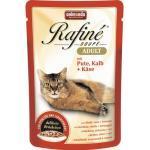 Katzenfutter nass animonda Rafiné Soupé Adult mit Pute, Kalb + Käse 1 Pack 12x100 g