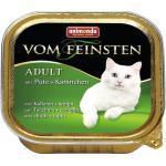 Katzenfutter nass animonda vom Feinsten Adult mit Pute & Kaninchen 1 Pack 32x100 g