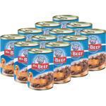 Katzenfutter nass MR. BEEF Ente und Leber 1 Pack 12x400 g