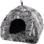 Katzenhöhle eckig Citra, 40x40x35 cm, grau