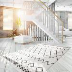 Kayoom Hochflorteppich Agadir 310 Schwarz Rechteckig 170x120 cm (BxT) Ethno Design Webstoff