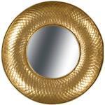 Kayoom Wandspiegel Cleo 280, Gold goldfarben Kleinmöbel
