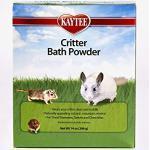 Kaytee 860412 Critter Bath Powder, Badestaub für kleine Haustiere/Nagetiere/Hamster