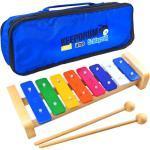 keepdrum KGS2 Glockenspiel für Kinder + Tasche MB01