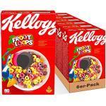 Kellogg's Froot Loops Cerealien | Cornflakes mit Fruchtgeschmack | 6er Vorratspackung (6 x 375g)