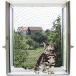 Kerbl Katzenschutznetz 6x3 m transparent 82655