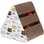 Kerbl Maxi-Pet 81637 Katzenkratzbrett Boon aus Pappe