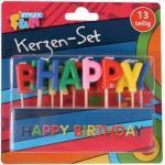 Kerzen-Set - Happy Birthday