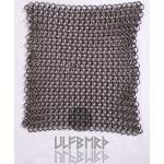 Kettenstück 20x 20cm für Kettenhemd aus Federstahl von ULFBERTH, unbehandelt Mittelalter Wikinger