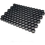 Kiesgitter Wabenmatte Bodenwabe Kiesstabilisierung EASYGRAVEL® schwarz, ab 20m² zu bestellen, befahrbar von PKW und LKW, Kieswaben