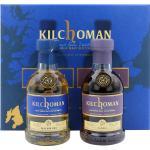 Kilchoman Machir Bay und Sanaig Geschenkset 46.0% 2x0,2l