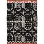 Schwarze Mediterrane Teppiche