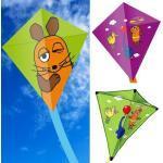 Grüne Die Sendung mit der Maus Drachen & Flugdrachen mit Maus-Motiv