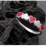 Silberne Juwelier Harnisch Kinderringe
