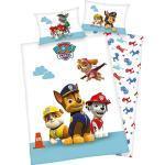 Kinder-Wendebettwäsche PAW Patrol, Renforcé, 100 x 135 + 40 x 60 cm mehrfarbig