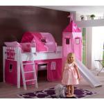 Kinderbett in Rosa Turm