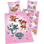 Kinderbettwäsche »Paw Patrol«, PAW PATROL, mit tollem Motiv, rosa