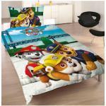 Kinderbettwäsche Team, PAW PATROL bunt Bettwäsche 135x200 cm nach Größe Bettwäsche, Bettlaken und Betttücher