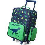 Kinderkoffer, VASCHY Schön Reisekoffer Jungen Handgepäck Koffer Kleinkind Kindergarten Kinder Trolley mit Rädern 18 Zoll Dinosaurier