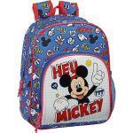 Kinderrucksack Mickey Mouse Hey, Mickey blau/rot