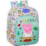 Kinderrucksack Peppa Pig hellblau