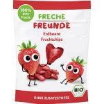 Kindersnack Fruchtstückchen Erdbeere, ab 3 Jahren Freche Freunde (12 g)