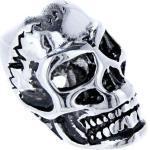 Kiss of Leather Haarschmuck »Bartperle Totenkopf Skull Haarperle Edelstahl Bartschmuck 6 mm«