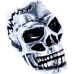 Kiss of Leather Haarschmuck »Bartperle Totenkopf Skull Haarperle Silber 925 Bartschmuck«, silberfarben