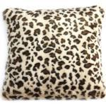 Kissen Tier 45 X 45 Cm Textil Beige