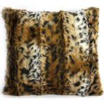 Kissen Tier 45 X 45 Cm Textil Braun