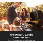 Klarstein Gazooka 2.0T Gas BBQ Grill 2x3kW Brenner Edelstahl