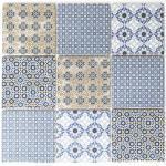 Klassik Majolic Mosaikfliesen 9,8 x 9,8 cm