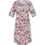 Kleid 3/4-Arm und Rundhals-Ausschnitt Emilia Lay weiss