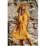 Gelbe Bohemian Cupshe V-Ausschnitt Damenmode für den Sommer