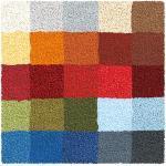 Kleine Wolke Badteppich CUBETTO 60 x 60 cm in Bunt